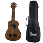 Archer Soprano Koa Ukulele Package