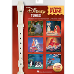 Disney Tunes - Recorder Fun Pk: includes Recorder and Book