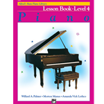 Alfred's Basic Piano Library Lesson Book 4