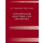 Vaughan Williams Concerto for Bass Tuba and Orchestra / Arr. for Tuba and Piano