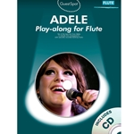 Adele Play Along Flute  /CD
