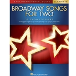 Broadway Songs for Two Clarinet Clt