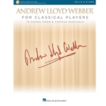 Andrew Lloyd Webber for Classical Players Cello and Piano /Audio Access