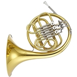 Jupiter 752L Lacquered Brass Body Single French Horn