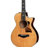 Taylor 612ce 12-Fret Grand Concert- Acoustic Electric - Torrefied Sitka/Maple
