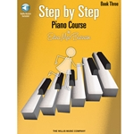 Step By Step Piano Course Book 3 & CD