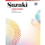 Suzuki Piano School International Edition Piano Book and CD, Volume 3