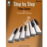Step By Step Piano Course Book 4 & CD