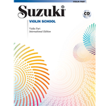 Suzuki Violin School, Volume 1 W/CD International Edition