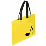 "500301-12 Note Bag Yellow 15.5""W x 12""H"