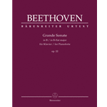 Beethoven Grande Sonata Opus 22 for Piano Urtext