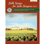 Folk Songs For Solo Singers Ml/CD Collection