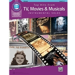 Top Hits from TV Movies & Musicals Instrumental Solos Clarinet Book & CD