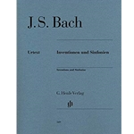 Bach Inventions and Sinfonias BMV 772-801 Piano Urtext