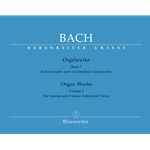 Bach Organ Works Volume 1 Urtext