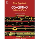 Chaminade Concertino Flute and Piano Opus 107 Solo
