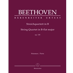 Beethoven String Quartet in Bb Major Op 130 Urtext