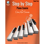 Step By Step Piano Course Book 5 & CD