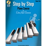 Step by Step Piano Course Book 6 & CD