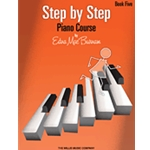 Step By Step Piano Course Book 5