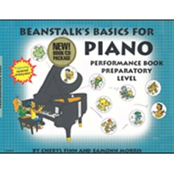 Beanstalk's Basics for Piano Performance Books Preparatory Level