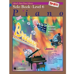 Alfred's Basic Piano Library Top Hits Level 6