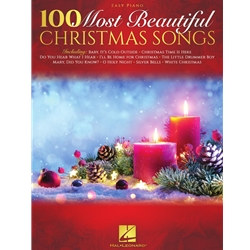 100 Most beautiful Christmas Songs Easy Piano EP
