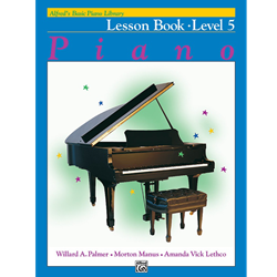 Alfred's Basic Piano Library Lesson Book 5