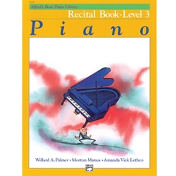 Alfred's Basic Piano Library Recital Book, Book 3