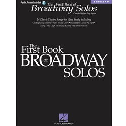1st Bk Broadway Solos Sop /CD Collection
