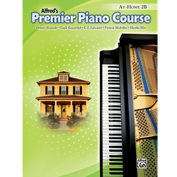 Alfred's Premier Piano Course, At-Home 2B