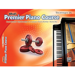 Alfred's Premier Piano Course, Technique 1A