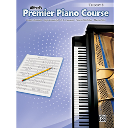 Alfred's Premier Piano Course, Theory 3