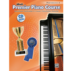 Alfred's Premier Piano Course, Performance 4