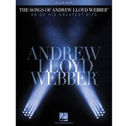 Songs Andrew Lloyd Webber Clarinet Clt