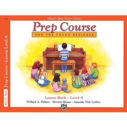 Alfred's Basic Prep Course Lesson Book A