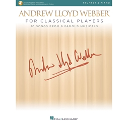 Andrew Lloyd Webber for Classical Players Trumpet and Piano /Audio Access
