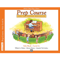 Alfred's Basic Prep Course Solo Book A
