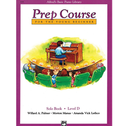Alfred's Basic Piano Library Prep Solo D