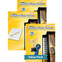 Alfred's Premier Piano Course Lesson Theory & Performance 1B Value Pack