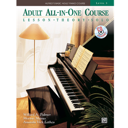 Alfred's Basic Adult All-in-One Course, Book 3