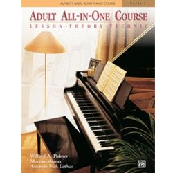 Alfred's Basic Piano Library Adult All In One Book 1