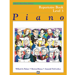 Alfred's Basic Piano Library Repertoire Book 3