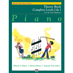 Alfred's Basic Piano Library Complete Theory 2&3
