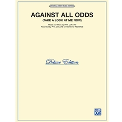 Against All Odds (Take a Look at Me Now) Piano/Vocal/Chords
