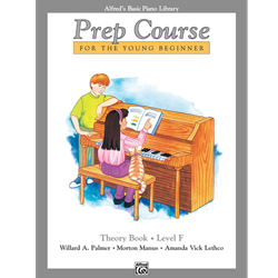 Alfred's Basic Piano Library Prep Theory F