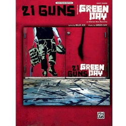 21 Guns Easy Piano