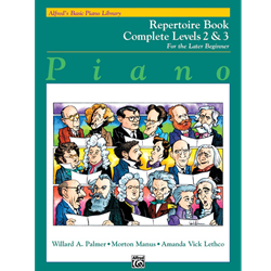 Alfred's Basic Piano Library Repertoire Comp 2&3