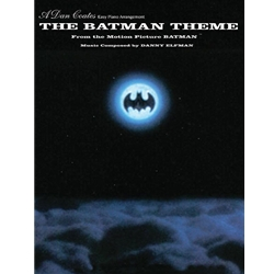 Batman Theme Piano Solo Sheet