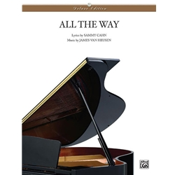 All the Way (Deluxe Edition) Piano/Vocal/Chords